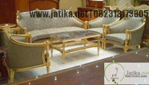 Kursi Tamu Sofa Romawi Italian Style