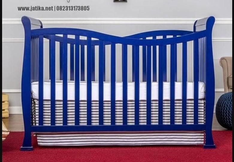 Box Bayi Minimalis Simple Warna Biru