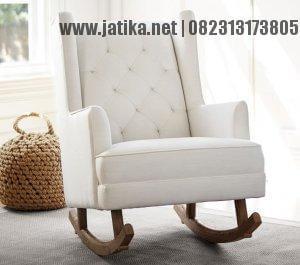 Kursi Goyang Menyusui Model Sofa
