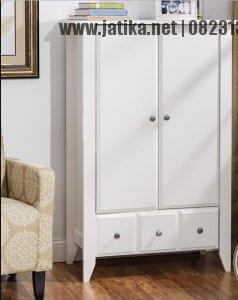 lemari Pakaian Anak Minimalis 2 Pintu