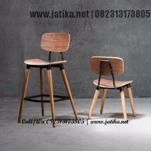 Kursi Cafe & Bar Kayu Jati