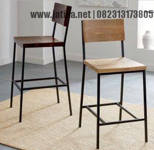 Kursi Cafe dan Bar Rangka Besi