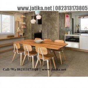 Set Kursi Cafe Rangka Besi dan Jati