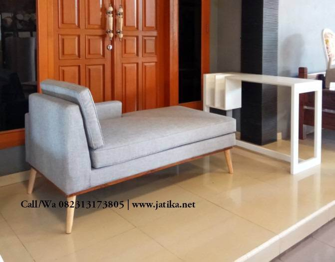 Sofa Single Model Retro Terbaru 2018