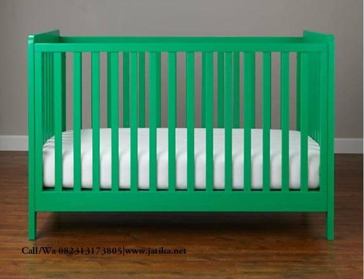 Box Bayi Murah Minimalis Hijau | JATIKA FURNITURE