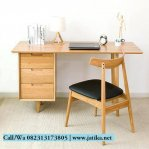 Meja Belajar dan Kerja Vintage