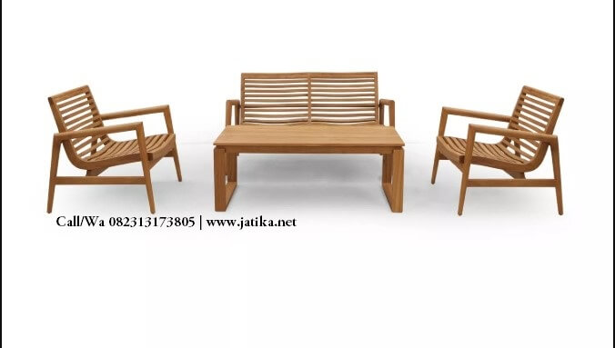 Set Kursi Tamu Jati Retro Scandinavian | JATIKA FURNITURE