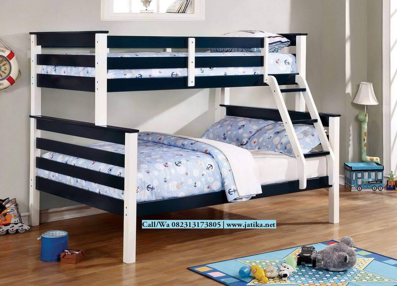 Tempat Tidur Anak Tingkat Duco Kombinasi | JATIKA FURNITURE