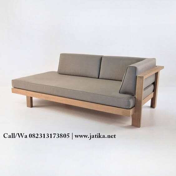 Kursi Sofa Single Miminalis Terbaru | JATIKA FURNITURE