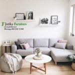 Set Sofa Sudut Minimalis Mewah