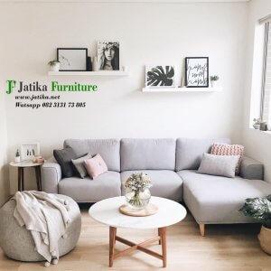 Gambar Set Sofa Sudut Minimalis Mewah