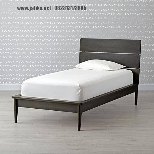Tempat Tidur Anak Minimalis Jati Terbaru