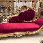 Sofa Single Mewah Ukir Jepara