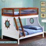 Tempat Tidur Tingkat Anak Desain Perahu