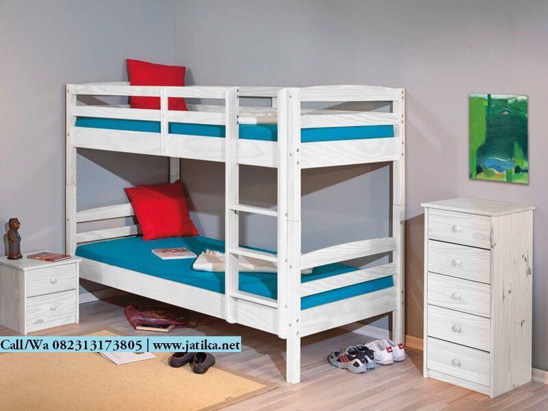 Tempat Tidur Tingkat Anak Minimalis Duco   JATIKA FURNITURE