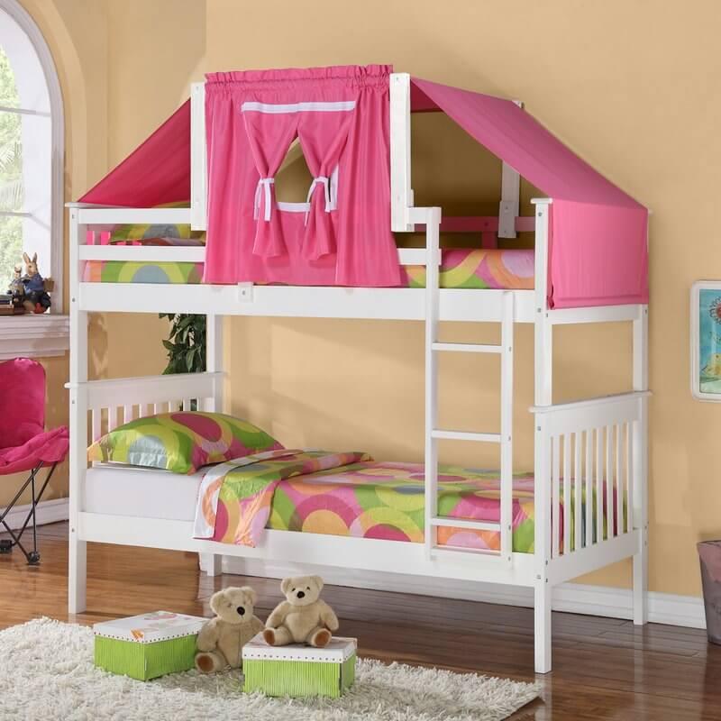 Tempat Tidur Tingkat Anak Unik Minimalis   JATIKA FURNITURE