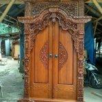 Pintu Gebyok Ukir Klasik Jepara