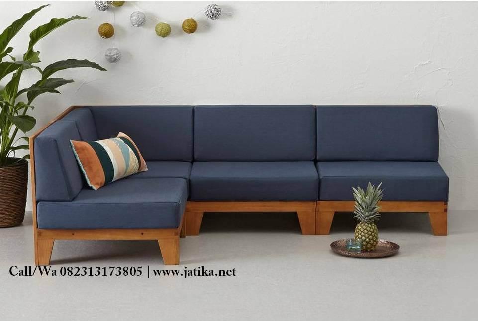 Gambar Set Kursi Sofa Sudut Minimalis