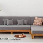 Set Kursi Sofa Sudut Minimalis