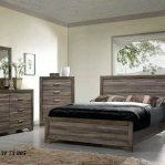 Set Tempat Tidur Mewah Minimalis Rustik