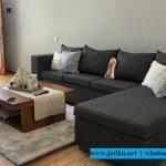 Set Sofa Sudut Minimalis Mewah Kualitas Ekspor